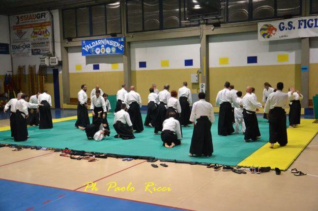 Ki Aikido a Matassino con Yoshigasaki