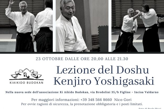Lezione del Doshu Kenjiro Yoshigasaki