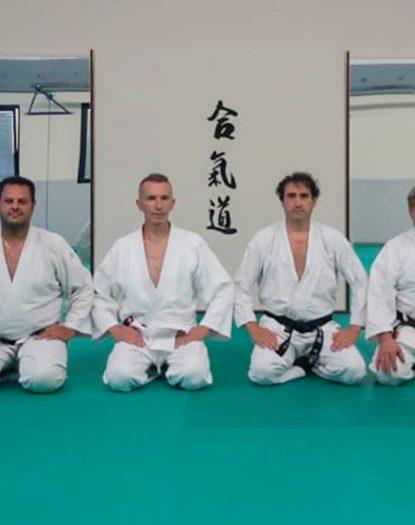 Primo allenamento tecnico Maestri e Istruttori Aikido e Karate